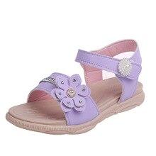 Summer New Child Girl Shoes Kids Children Sandal princess Shoes Kids Baby Grils Sandal 3T 4T 5T 6T 7T 8T 9T 10T 11T 13T 14T 15T