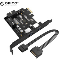 ORICO Desktop 2 Port USB3 0 PCI Express Card For Laptop With VLI Chipset PVU3 2O2I