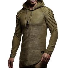 2019 New Mens Hoodies Brand Fashion Men Solid Color Sweatshirt Male Hoody Hip Hop Autumn Winter Hoodie Pullover