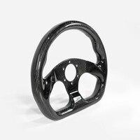 For BRZ GTR GTS MX5 FT86 Flat Type Dry Carbon Fiber 320mm Steering Wheel (6 bolts 70mm PCD) Fit For MOMO, OMP & Sparco Drift Kit