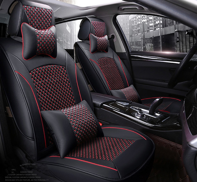High Quality Four Season Car Seat Covers For Skoda Octavia 2017