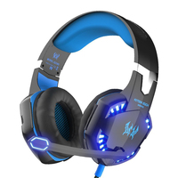 KOTION EACH G2000 Gaming Headset HIFI Stereo Wired PC Gamer Computer Headphones With Microphone Led Noise