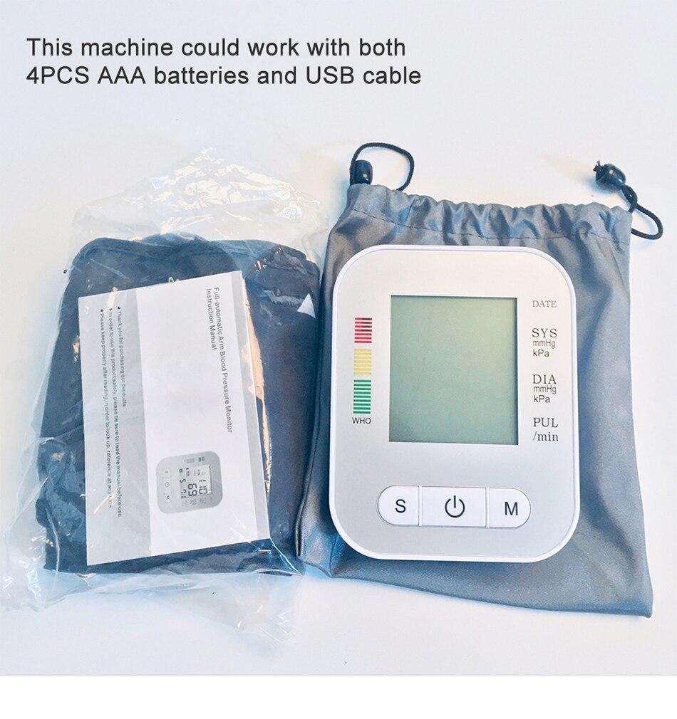 Equipamento médico tonômetro casa monitor de pressão