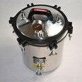 18L Professional Handheld Stem Autoclave Sterilizer Stainless Steel  Tattoo Dental Equipment Autoclaves Supply TA-230
