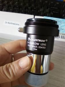Image 2 - Celestron בארלו מגדילה 2x ארלו עדשה עינית 1.25 אינץ להכניס את 2x ארלו עדשה בין העינית לא משקפת