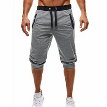 2019 NEW Summer Brand Mens Jogger Sporting Thin Shorts Men Black Bodybuilding Short Pants Male Fitness Gyms Shorts for workout best price hot spring sport men boxer shorts trunks slim mens gyms brand jogger sporting men beach shorts for workout