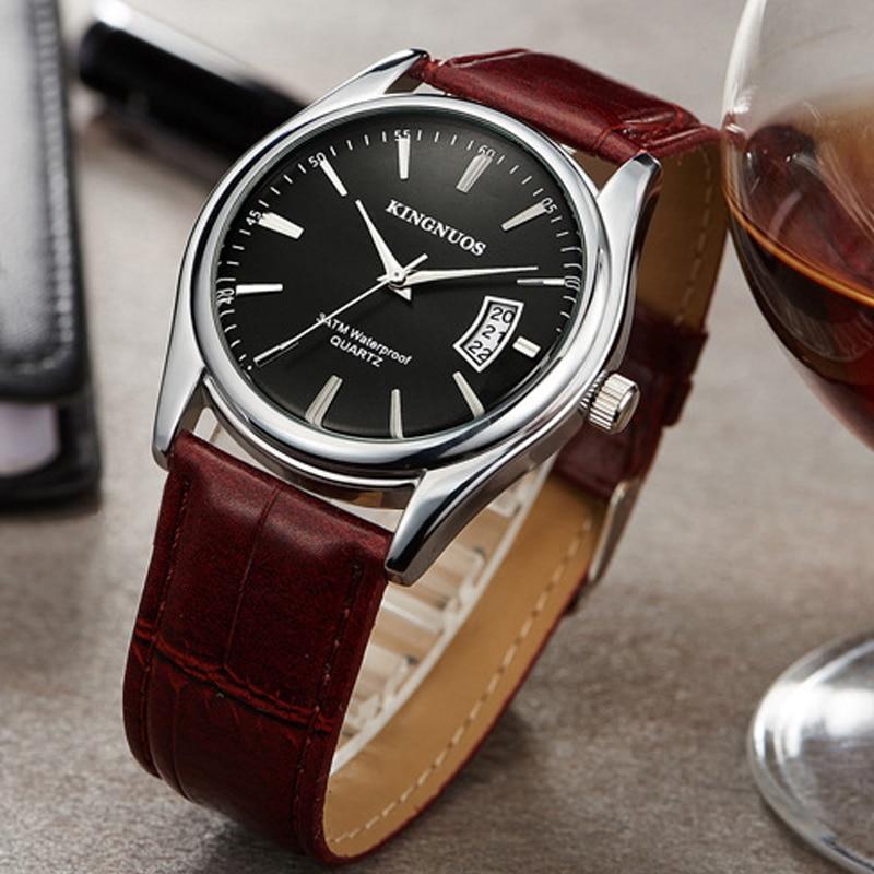 zegarki meskie Business Men's Watch Waterproof Date Clock Male Sports Watches Men Quartz Casual Wrist Watch Relogio Masculino