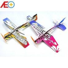 RC flugzeug 3D Flugzeug Micro Mini Schaum EPP PP F3P Lichtset KIT Modell Hobby Spielzeug Sakura Fernbedienung Spielzeug