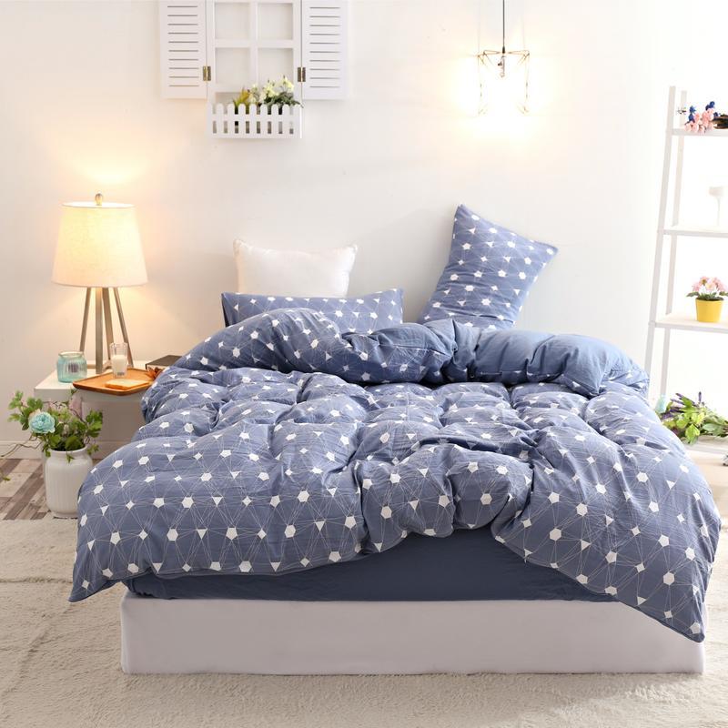 4 pièces ensembles de literie/ensemble de lit/literie pour enfants/linge de lit housse de couette drap de lit taie d'oreiller, double reine taille livraison gratuite