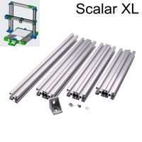 3D Printer Modular System Scalar XL T slot Aluminum Extrusion Profile Metal Frame with Bracket Nut Screw