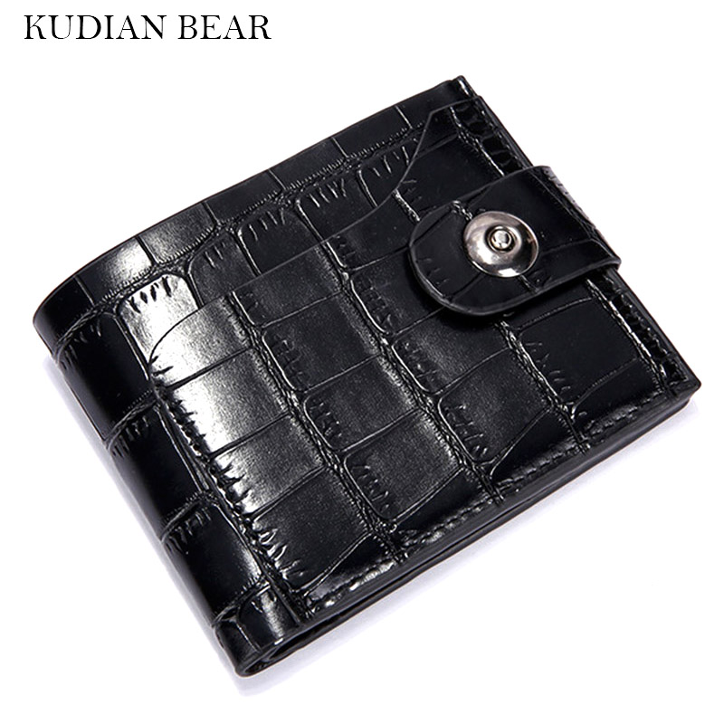 KUDIAN BEAR Leather Men Wallets Male Purses Brand Designer Male Clutch Purse Credit Card Holder WalletBID219 PM49 kudian bear lovely carton women wallets purses short designer leather small ladies clutch candy colors coin holder bic082 pm49