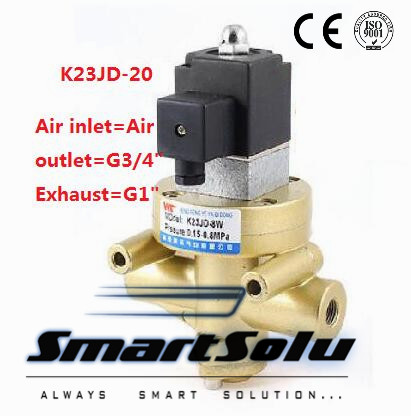 2/3Way N/C Type Electric Control Reversing Valve Pneumatic Stop Valve Cut Off Solenoid Valve Brick Machine Parts oven parts rice cooker machine assemble valve with 3v solenoid valve