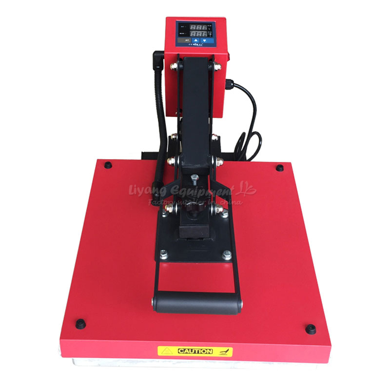 Plate high pressure heat transfer machine CY-G3845 work for 38 * 45T shirt hot stamping machine equipment цена 2017