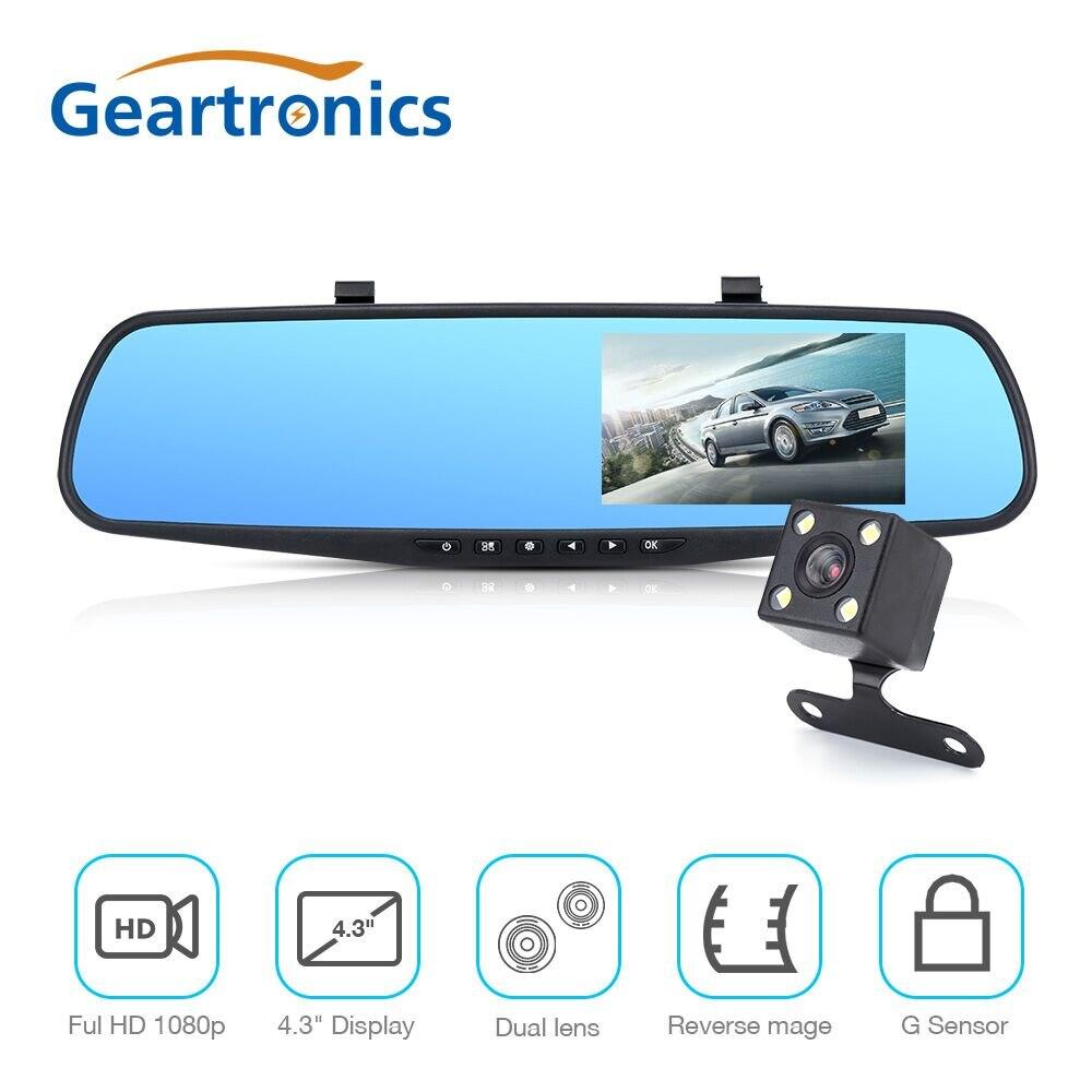 Car DVR Dual Lens Car font b Camera b font Full HD 1080P Video Recorder Rearview