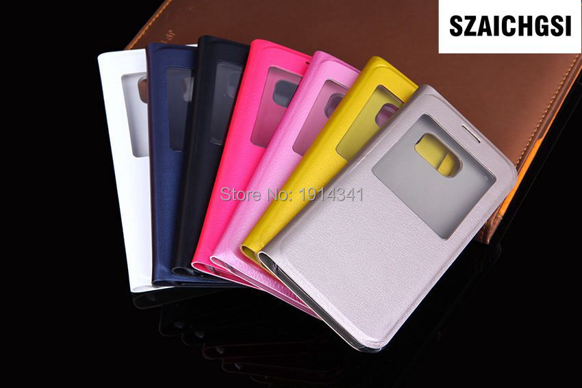 SZAICHGSI Cover Flip PU Leather mobile Phone Cases Shell