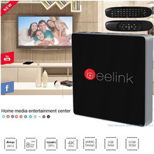 Véritable Beelink GT1 Intelligent Android 6.0 TV Box Amlogic S912 Octa Core H.265 2.4G + 5.8G Double WiFi Bluetooth 4.0 2G RAM 16G ROM