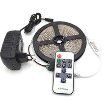 Waterproof LED Strip 300 leds 5m 2835 led light + 12v2a Power adapter + 11 Keys RF Controller + DC