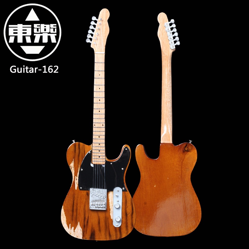 Wooden Handcrafted Miniature Guitar Model guitar-162 Guitar Display with Case and Stand (Not Actual Guitar! for Display Only!) wooden handcrafted miniature guitar model guitar 021ac guitar display with case and stand not actual guitar for display only