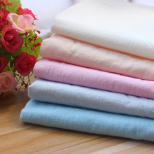 Cotton Cloth Washing Crepe Knit Plain Thin Shirt DIY Handmade Clothes
