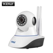 D'origine KERUI N62 WiFi caméra IR Cut Caméra IP HD 1MP CMOS sécurité CCTV IP Caméra D'alarme PT costume pour wifi et GSM alarme système