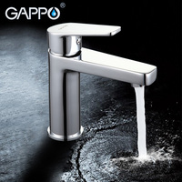 GAPPO water mixer bathroom basin sink faucet brass bathroom mixer taps bath faucets chrome basin mixer taps torneira do banheiro