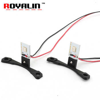 ROYALIN Car LED DRL Devil Eyes Motorcycle Demon Evil Eyes 2.5 Headlights Mini Projector Lens H1 w/ Turn-off Controller Wires DIY - DISCOUNT ITEM  10% OFF All Category