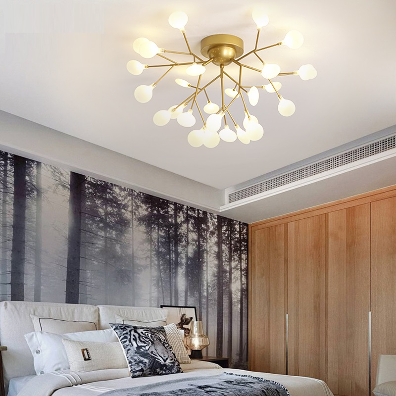 iluminação sala estar quarto lustres casa criativa luminárias ac110v 220 v