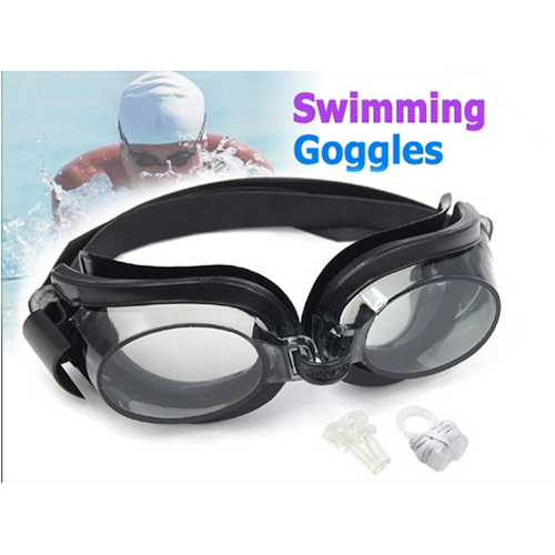 b28176bf1a4 LGFM New Nose Ear Plug + Black Mariner Swimming Glasses Goggles Silver  Smoke Antifog-in Nose Ear Clips from Sports   Entertainment on  Aliexpress.com ...