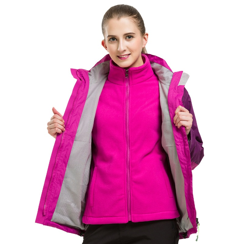 Autumn And Winter outdoor Wearable Mountaineering suits Couple Keep warm Windproof Cold Sports jacket Jackets amandeep kaur parminder singh and ginni sharma micro strip wearable antenna