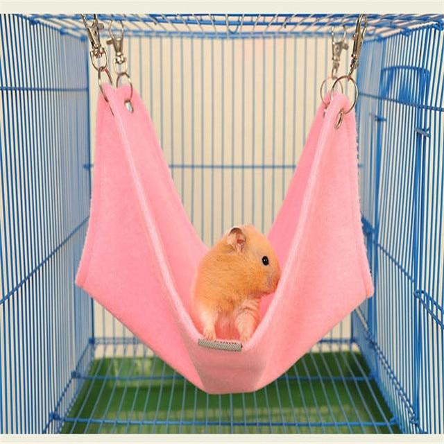 warm plush cloth hamster bed chinchilla hammock guinea pig rabbit hanging bed cage accessories warm plush cloth hamster bed chinchilla hammock guinea pig rabbit      rh   aliexpress
