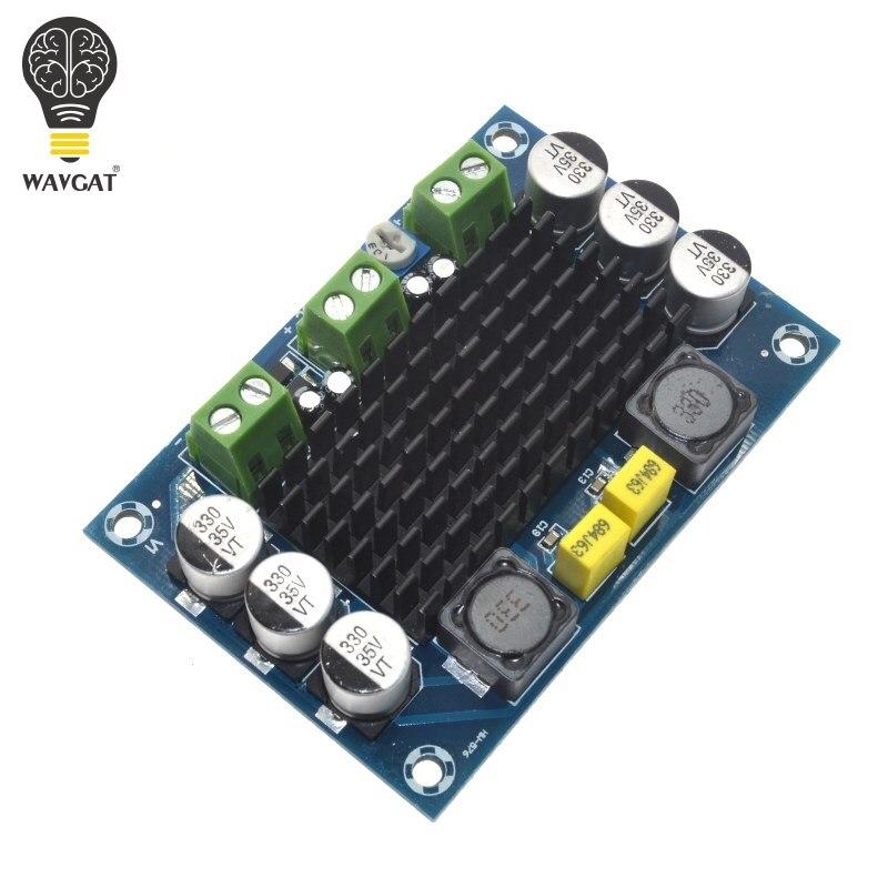 WAVGATG TPA3116 D2 TPA3116DA DC 12V 24V 100W Mono Channel Digital Power Audio Amplifier Board TPA3116D2 Large Capacity Board