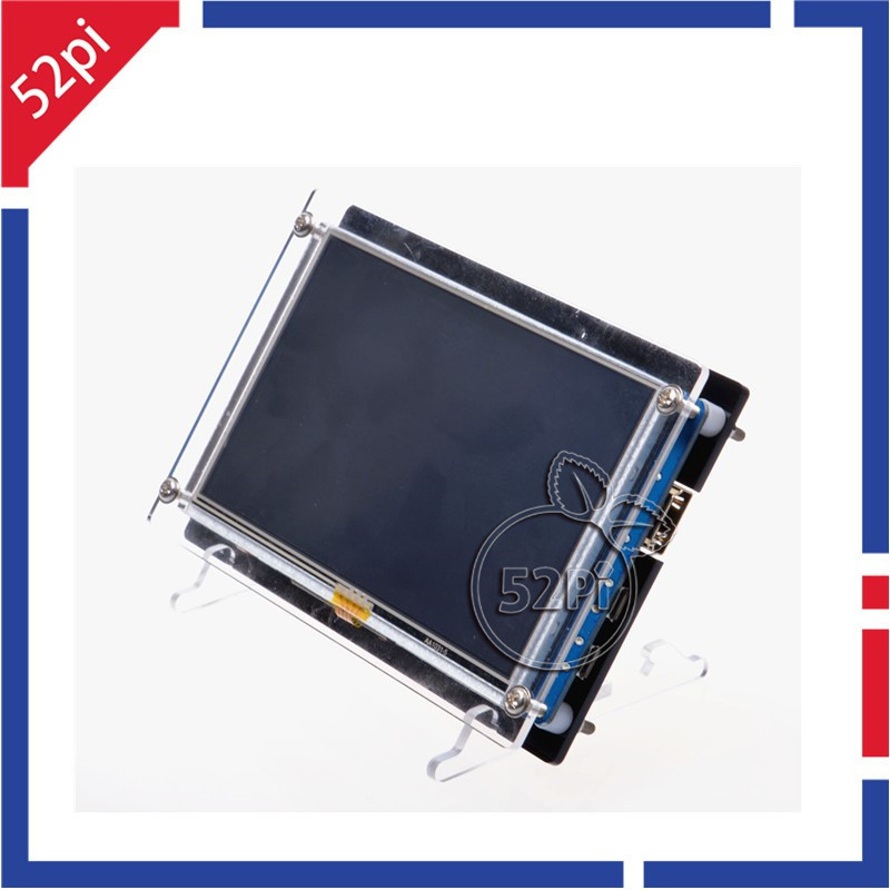 Raspberry Pi 5 inch HDMI LCD Display 800x480 Touch Screen TFT LCD Panel Module and Acrylic