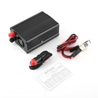500W DC To AC Power Converter DC12V To AC220V Car Inverter Aluminum Alloy Transformer Inverter USB