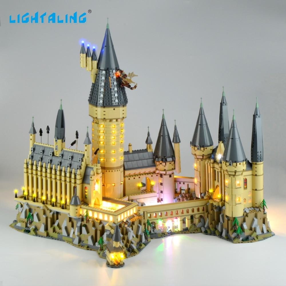 Lightaling ضوء مجموعة Hogwart قلعة مجموعة إضاءة LED متوافق مع 71043 (لا تشمل نموذج)-في حواجز من الألعاب والهوايات على  مجموعة 1