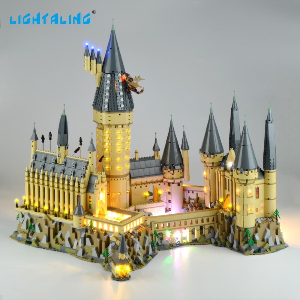 Lightaling Light Set Harry Potter Hogwarts Castle LED Light Kit Compatible With 71043 (NOT Include The Model)Lightaling Light Set Harry Potter Hogwarts Castle LED Light Kit Compatible With 71043 (NOT Include The Model)