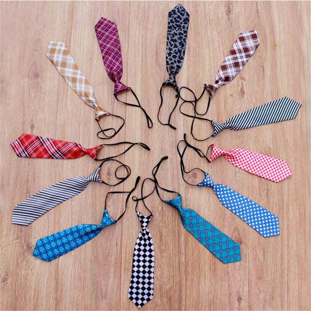 Mix-color Plaid Shape Baby Photography Tie Costume Photo Props Baby Girls Boys Cute Fashion Necktie Selected Material Apparel Accessories