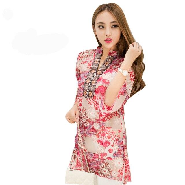 LET-SETTING Vermelho/Azul/Rosa/Cinza plus size chiffon one piece-vestido mulheres verão moda casual vestido L, XL, 2XL, 3XL, 4XL, 5XL