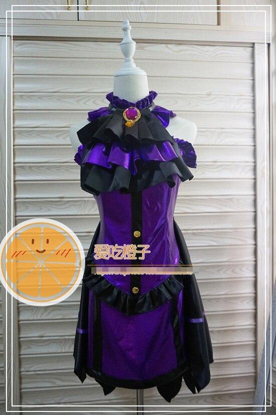 Les filles iDOLM @ STER cendrillon Kanzaki Ranko violet uniformes personnalisés Costume de Cosplay livraison gratuite