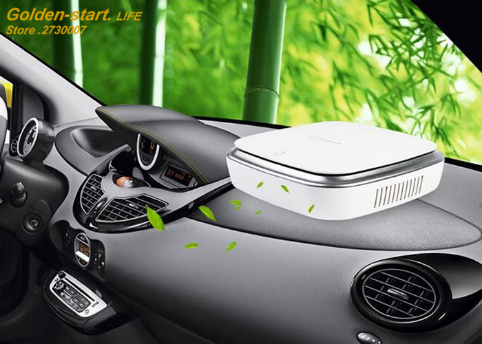 Car Air Purifier Solar Anion Car Air Humidifier Ionizer Car Air Freshener Oxygen Bar