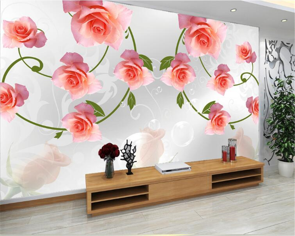 Compare Prices On Wallpaper Rose Flowers Online Shopping Buy Low