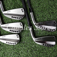 Golf Clubs 0311x Driving Irons Silvery/black Golf Forged Irons Clubs Golf 1 5, R / S Head Cover Steel Shaft