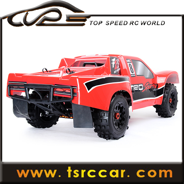 1/5 sales car 30.5cc RC Rovan Baja 5SC with 2.4G 3 channel controller with LCD screen