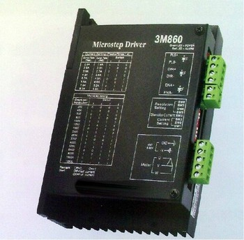 New Very Economy save cost CNC system stepper motor driver 3M860 work 24V-80VDC ,out 2.0A-8.3A 3-phase stepper driver