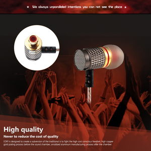 Image 3 - QKZ HiFi Metal Heavy Bass In Ear Earphone Sound Quality Music Professional Mobile Phone  Earphone Headset fone de ouvido DM6