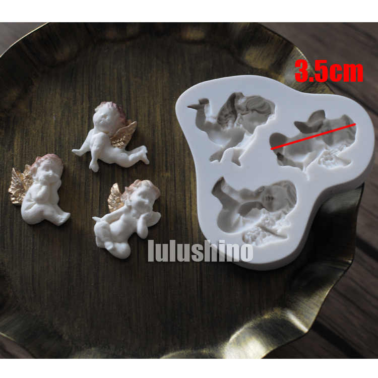 Yueyue Sugarcraft 1 piece Baby silicone  mold fondant mold cake decorating tools chocolate gumpaste mold CK-SM-166