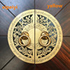 Xipeiyi Chinese Style Brass Vintage Bronze Handle Pulls Cabinet Cupboard Wardrobe Round Handle Copper Door Handle