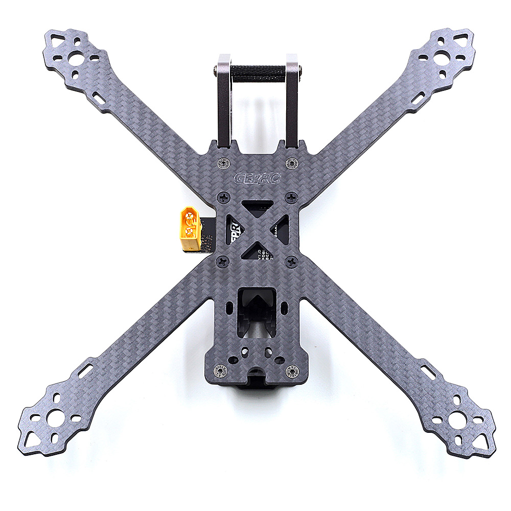 GEPRC Drone GEP-KX5 Elegant 243mm FPV Racing Drone 3K Pure Carbon Fiber X Frame Set for RC UAV Multicopter DIY Parts geprc diy fpv mini drone gep bx5 flyshark quadcopter 3k pure carbon fiber frame for the racing 4 5 6 4mm main arm plate