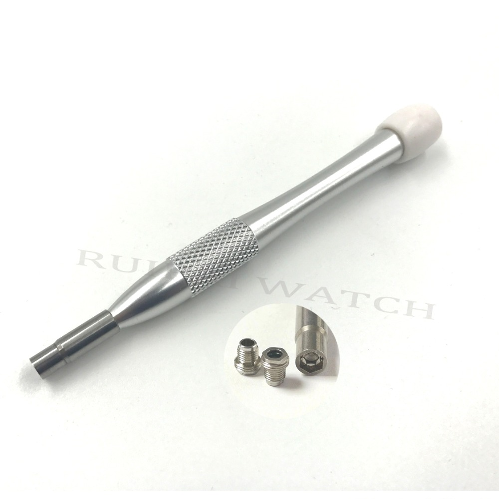 Hex Screwdriver Fit For OMG 6121 Watch Tube Removing