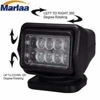 Marlaa 12 v 50 w 360 & 120 Draadloze LED Auto Zoeken Spot Light roterende Afstandsbediening Spot voor SUV Boot Home Security