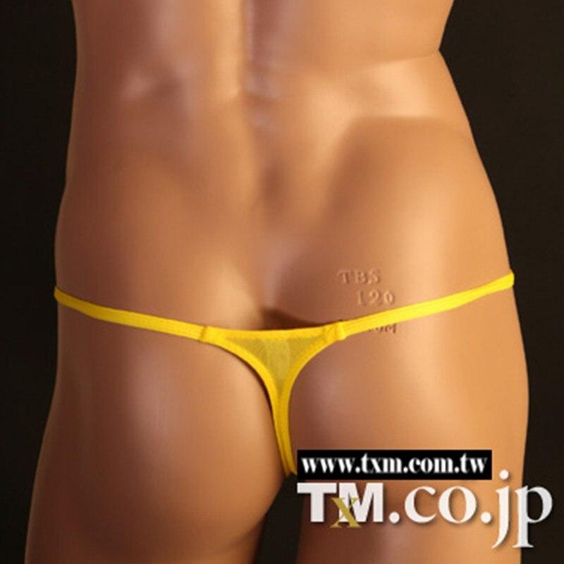 2016 сексуальное нижнее белье мужчины Мода Нейлон Мужчины G-Strings Стринги популярный бренд Стринги мужской мальчики гей 7 Цвет Трусы бандаж гей